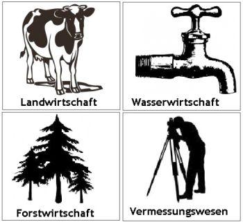 Land,-Forst,- und Bauwirtschaft