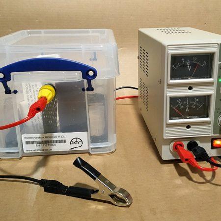 Elektrolyseboxen und Zubehör
